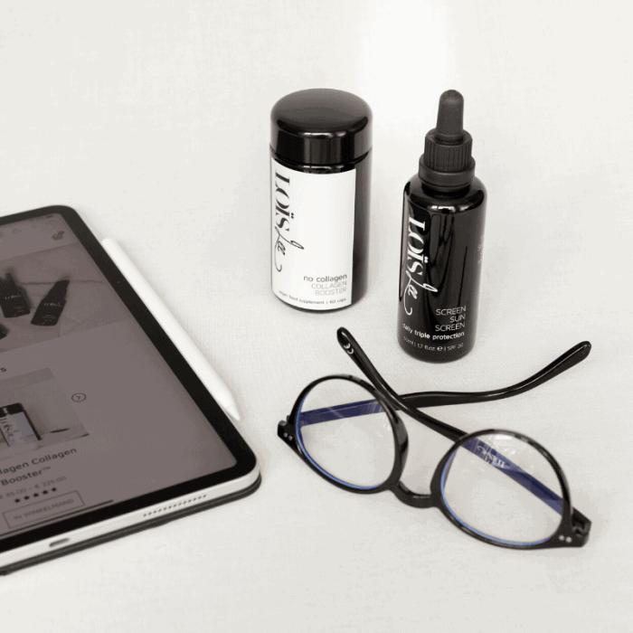Screen Sun Screen + No Collagen Collagen Booster™